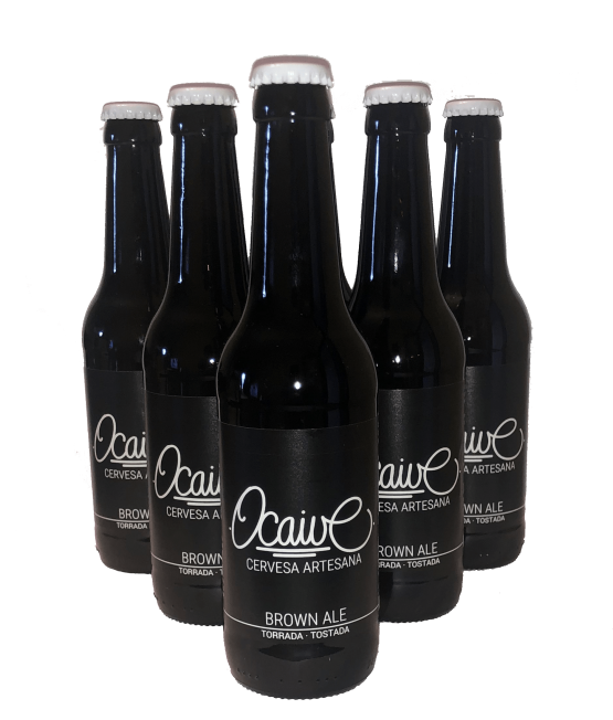 botellas de cerveza artesana ocaive